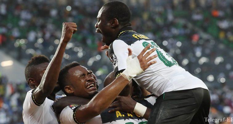 КАН-2017. Гана с трудом переиграла ДР Конго и вышла в полуфинал