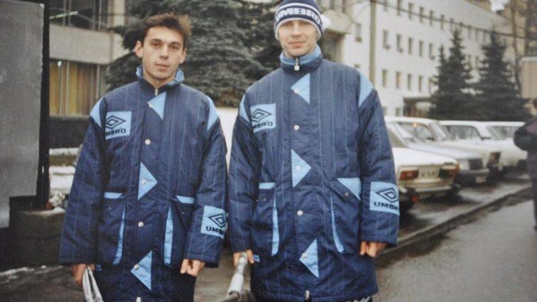 «Идут бить мух»: в Facebook увлеклись раритетным фото легенд «Динамо» в Москве