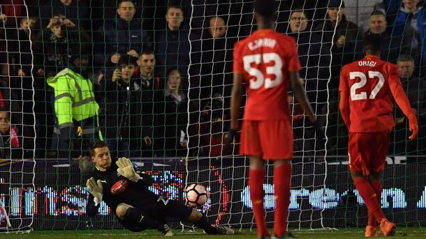 «Ливерпуль» обыграл «Плимут» в переигровке Кубка Англии