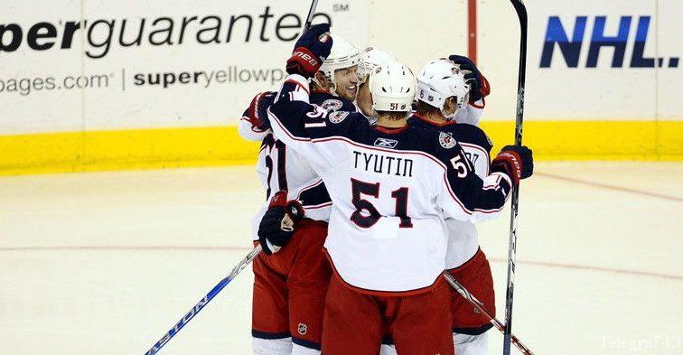 ХК «Коламбус» оформил 16 победу подряд в НХЛ