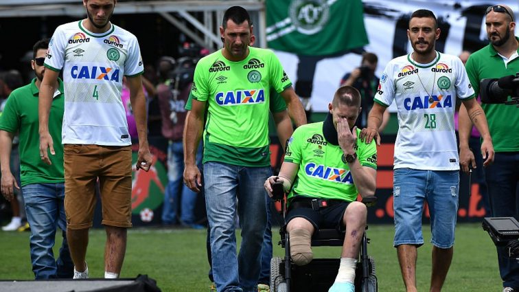«Шапекоенсе» провел первый матч после авиакатастрофы