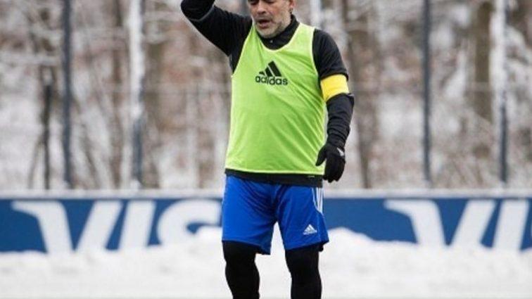 Марадона сыграл в футбол с президентами УЕФА и ФИФА