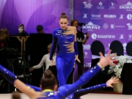 Украинские гимнастки завоевали 14 медалей на турнире в Эстонии