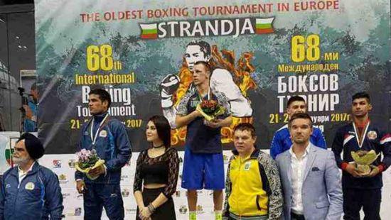 Украинец выиграл боксерский турнир Кубок Странджа