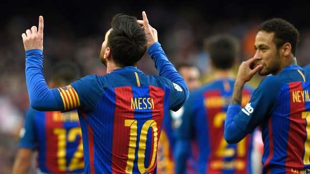 Лионель Месси установил рекорд «Барселоны» по голам со штрафного