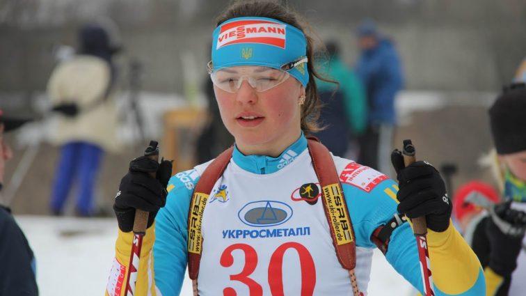 Известная украинская биатлонистка установила персональный рекорд