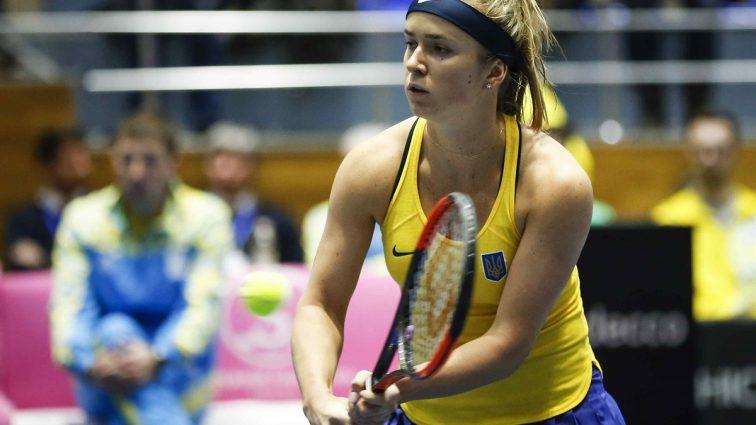 Теннис по-украински: Элина Свитолина приносит вторую победу сборной страны