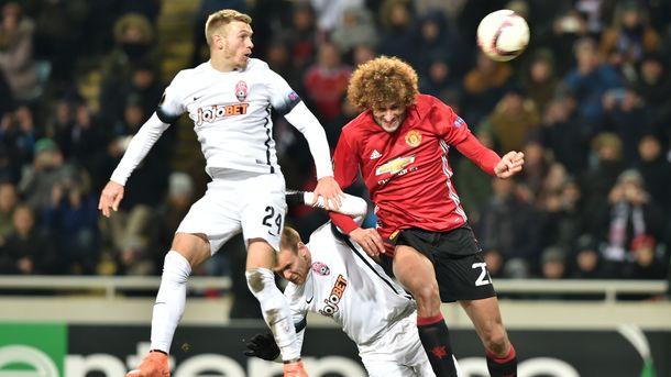 УЕФА оштрафовал «Зарю» за матч против «Манчестер Юнайтед» в Лиге Европы