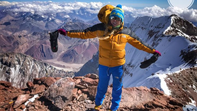 Ничего себе! Украинка поднялась на высочайшую вершину Южной Америки