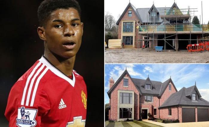 Игрок Манчестера купил себе роскошный особняк