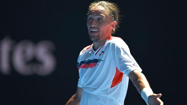 Долгополов не смог доиграть матч на турнире в Рио-де-Жанейро
