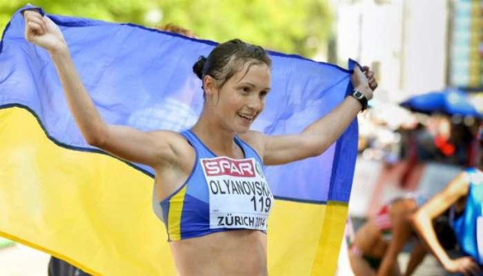 Украинскую легкоатлетку Л.Оляновскую дисквалифицировали на четыре года