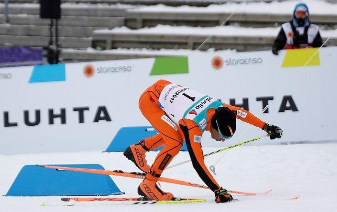 Венесуэльский лыжник взорвал интернет своим выступлением на чемпионате мира (ВИДЕО)