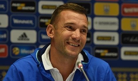 Шевченко объявил состав сборной Украины на матч с Хорватией