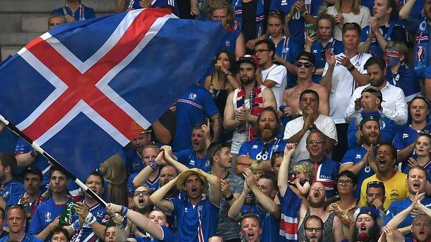 В Исландии всплеск рождаемости через 9 месяцев после победы над Англией на Евро-2016