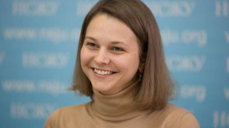 Анну Музычук наградили Орденом княгини Ольги