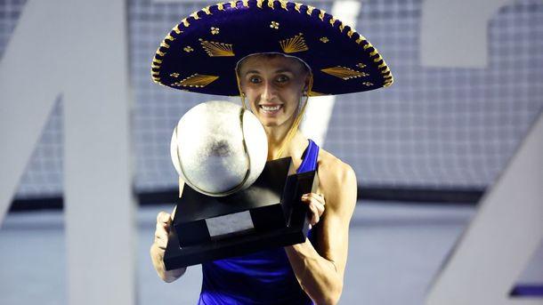 Украинка Леся Цуренко выиграла теннисный турнир в Мексике