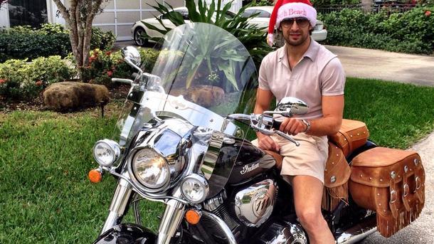 Экс-вратарь «Динамо» Шовковский продает винтажный мотоцикл