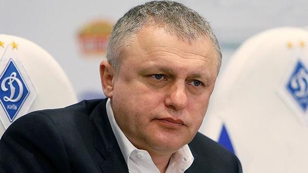 Суркис: «Не говорил ни с одним тренером, будем вести переговоры с Ребровым»