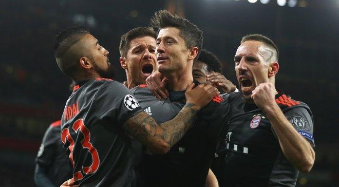 «Бавария» снова поиздевалась над «Арсеналом» и легко прошла в четвертьфинал Лиги чемпионов