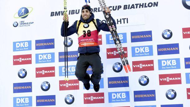 Мартен Фуркад завоевал малый Хрустальный глобус в гонках преследования