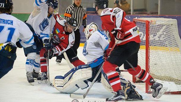 В плей-офф Украинской хоккейной лиги сыгран первый овертайм
