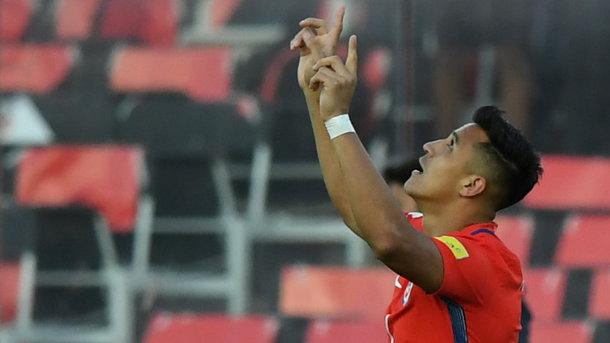 Лидер «Арсенала» сравнялся с лучшим бомбардиром в истории сборной Чили