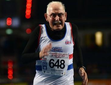 97-летний швейцарец выиграл два «золота» на чемпионате мира по легкой атлетике