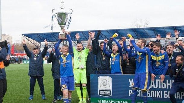 БАТЭ в седьмой раз завоевал Суперкубок Беларуси