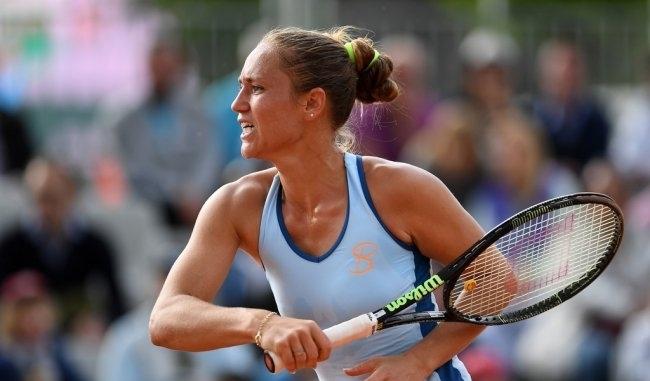 Украинская теннисистка вылетела в первом раунде турнира в США