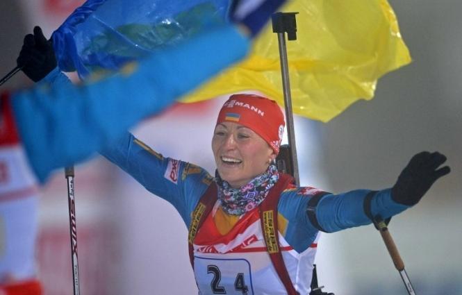 Вита Семеренко после длительного перерыва вернулась в биатлон