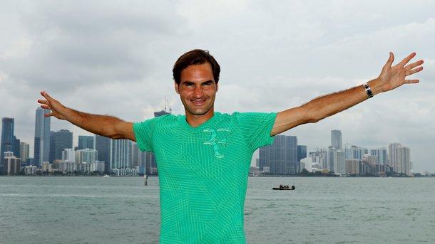 Роджер Федерер снялся с двух турниров в мае