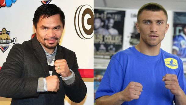 Ломаченко заявил, что не будет бить «старого» Мэнни Пакьяо