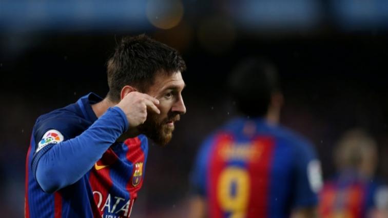 Месси необычно отпраздновал гол в ворота Севильи