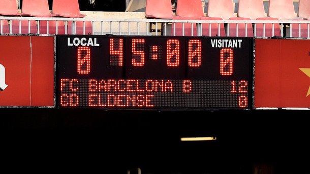 Матч «Барселоны» мог быть договорным