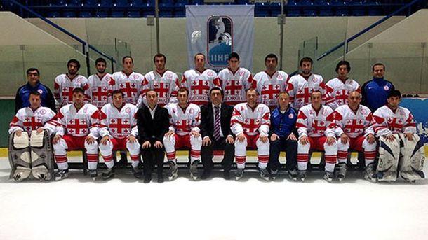 Сборная Грузии выиграла «бронзу» чемпионата мира по хоккею