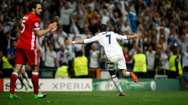 «Реал» и «Бавария» выдали суперматч в четвертьфинале Лиги чемпионов