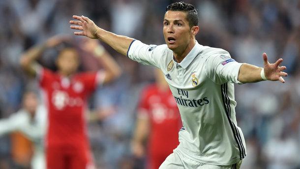 Роналду забил сотый гол в Лиге чемпионов