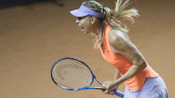 Мария Шарапова победно вернулась после дисквалификации