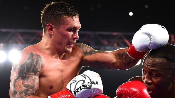Усик бросил вызов чемпиону WBC из Латвии