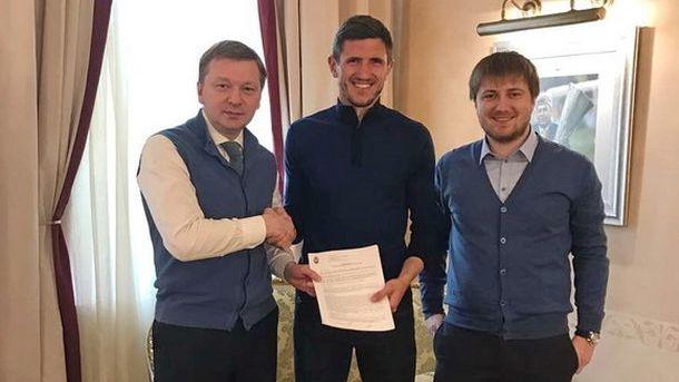 Сергей Кривцов продлил контракт с «Шахтером»