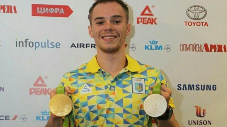 Украинский гимнаст Верняев выиграл золото и бронзу чемпионата Европы