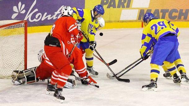 Юниорская сборная Украины проиграла Японии на чемпионате мира по хоккею