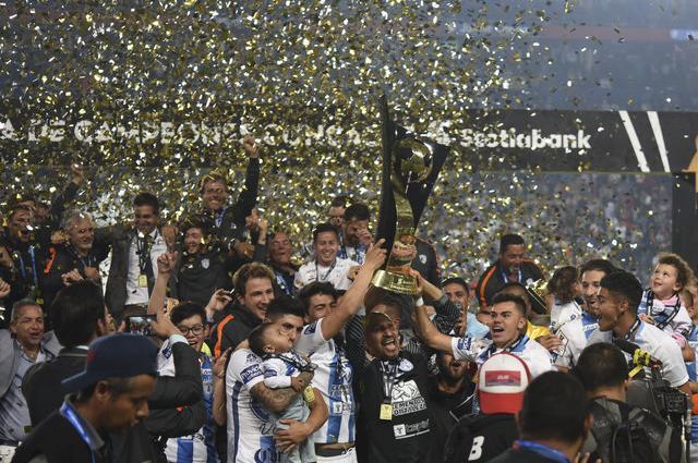 «Пачука» в пятый раз выиграла Лигу чемпионов КОНКАКАФ