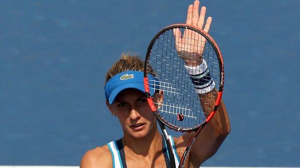 Леся Цуренко проиграла в первом круге турнира в Чарльстоне