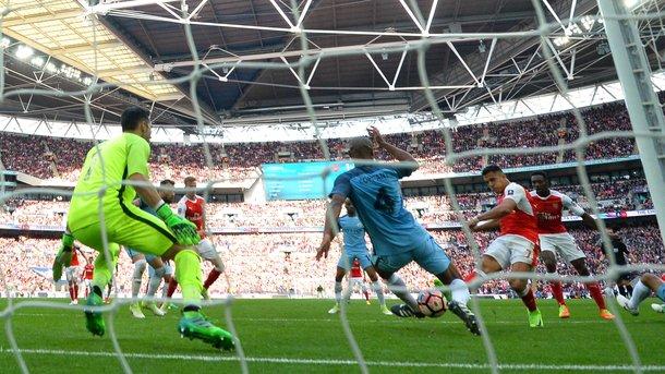 «Арсенал» в полуфинале Кубка Англии обыграл «Манчестер Сити»