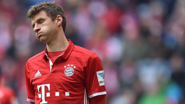 «Бавария» не выигрывает в 4 матчах подряд впервые с мая 2015 года