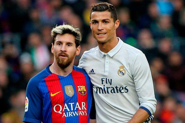 В Барселоне заметили целующихся Месси и Роналду