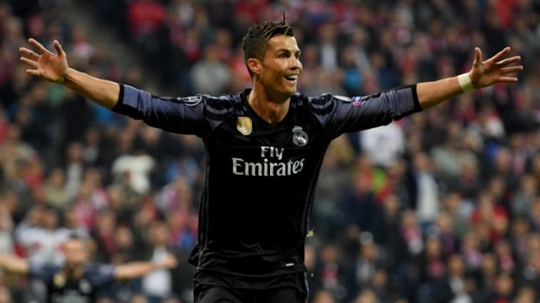 Роналду стал первым футболистом, который забил 100 голов в еврокубках