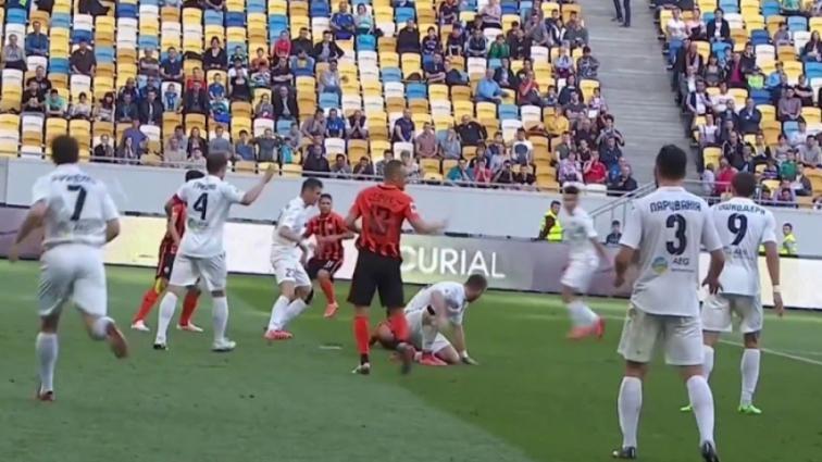 В центральном матче тура Динамо разгромило Олимпик